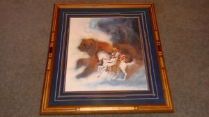 bev doolittle, two bears of the blackfeet, realism art, rare art doolittle