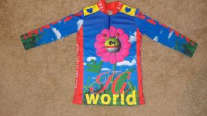 wild lethal trash, cycling jersey, kids cycling jersey, clothing art